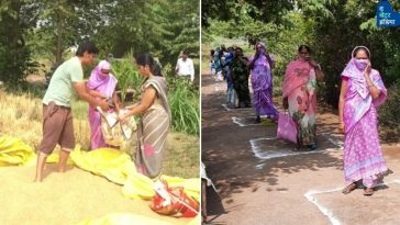 Nasik Farmer helps needy