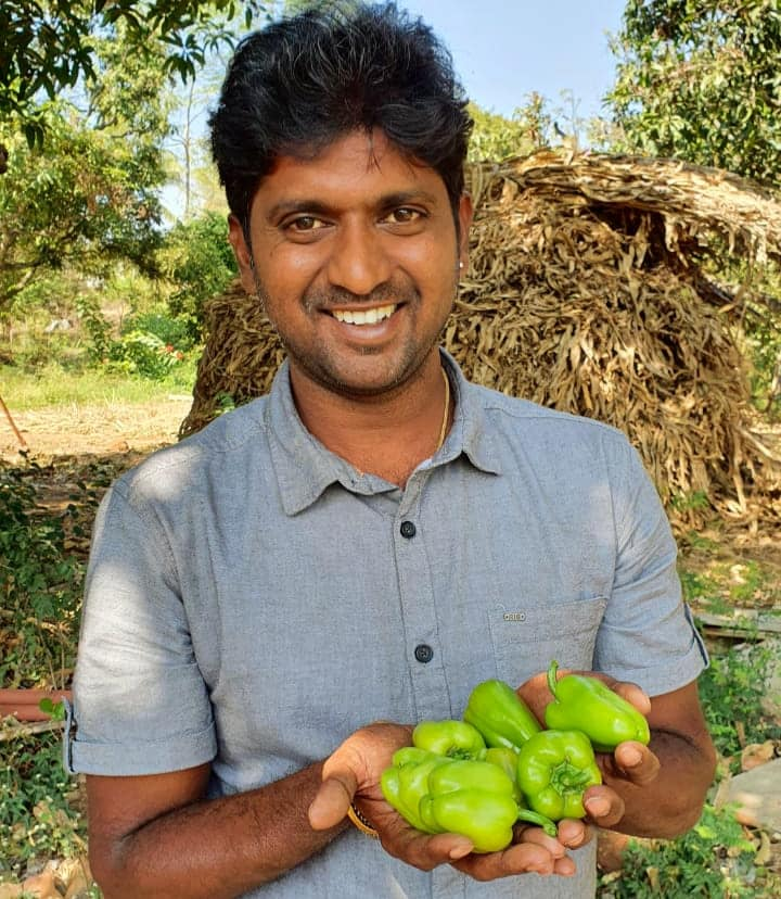 Engineer turned organic farmer
