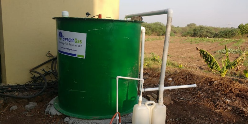 Ready to Install Biogas Plant