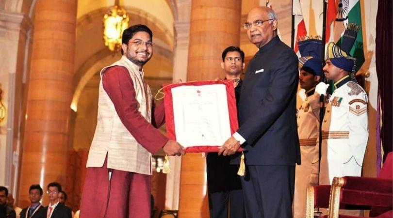 won national award for child welfare