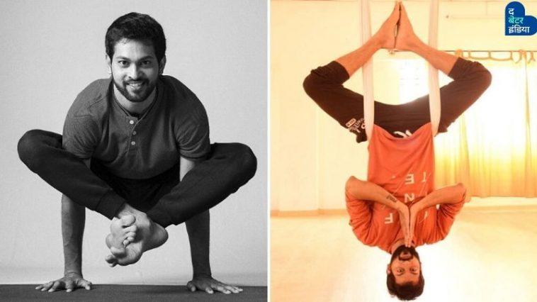 Yoga Mater teaching Yoga