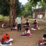 jahrkhand teachers giving classes