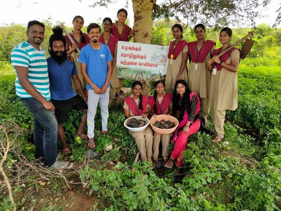 Tamilnadu Farmer conserving Nature
