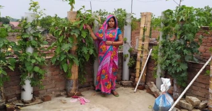 Bihar Woman