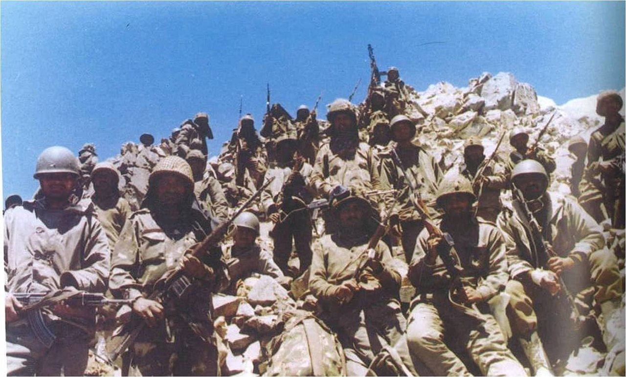 kargil war ladakhi men