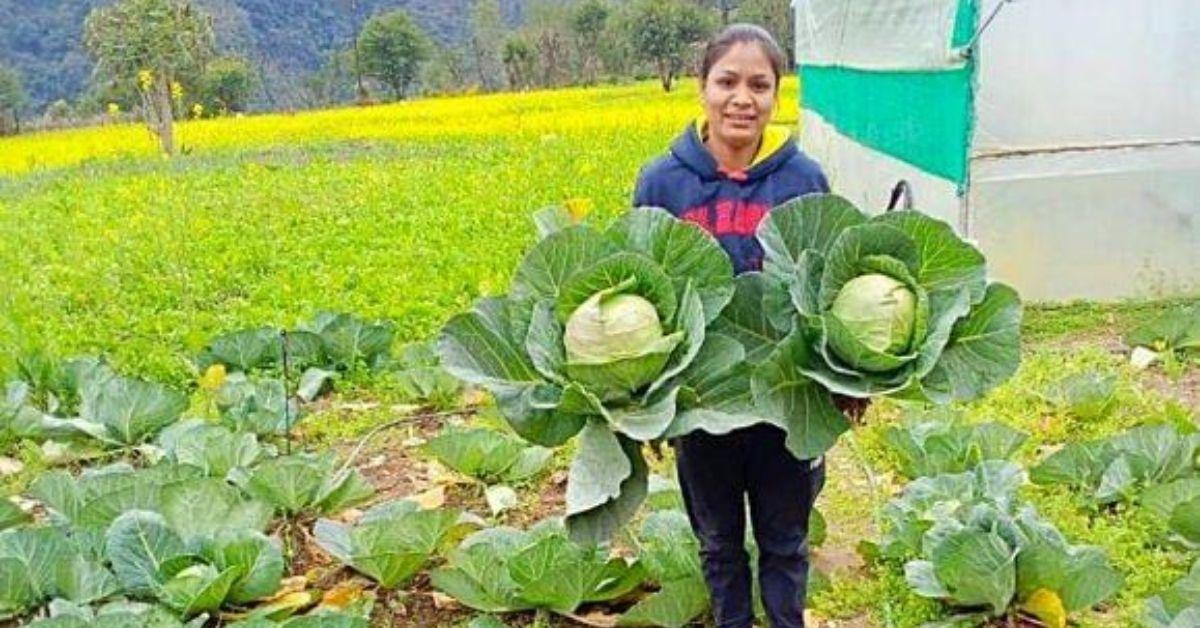 uttarakhand girl farming 13