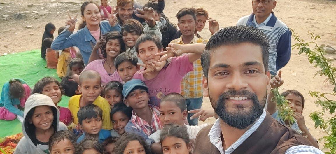 Teaching poor kids