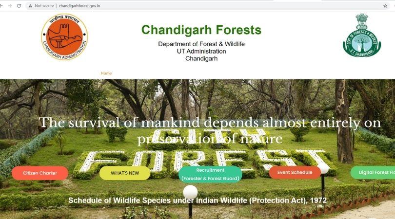 Chandigarh Forest Jobs
