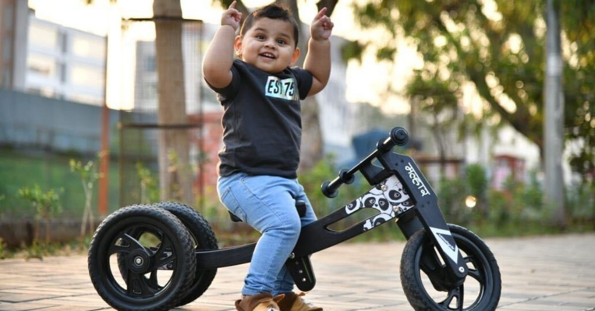 pune wooden bycycle