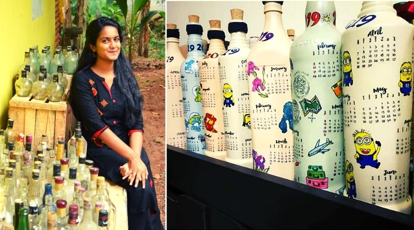 waste bottle craft business