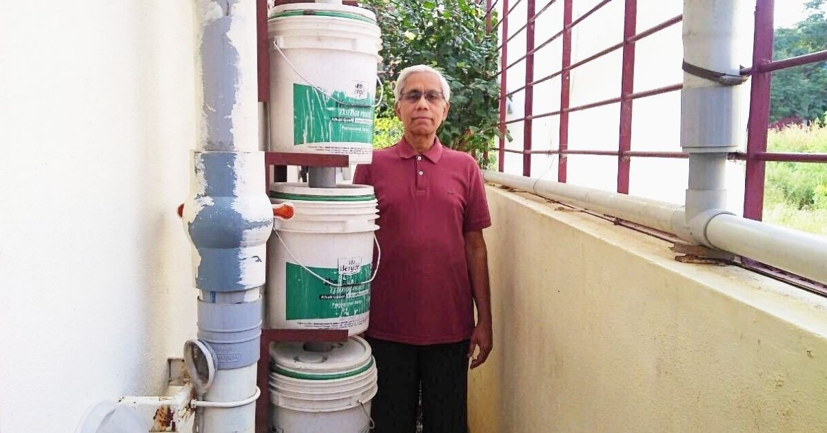 DIY Rain Water Harvesting