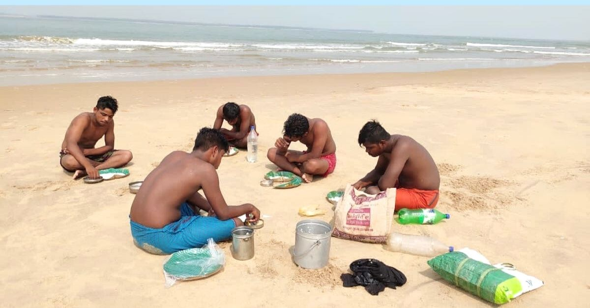 Odisha Youth Cleans Beach
